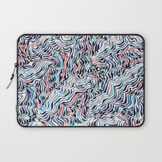 black topography Laptop Sleeve