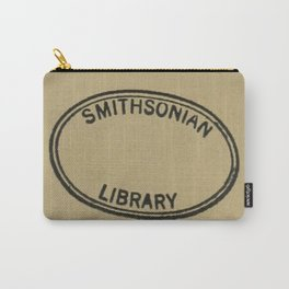 Smithsonian library stamp Carry-All Pouch