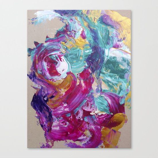 Abstract painting 5 Canvas Print