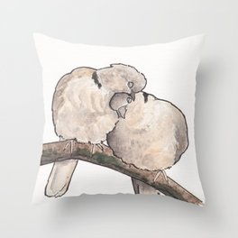 Bird no. 323: Snuggs Throw Pillow