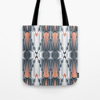 vogue Tote Bags featuring vogue by kociara