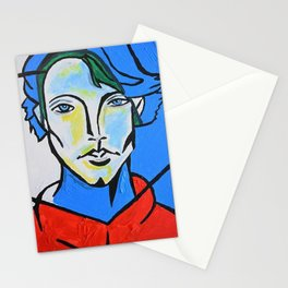Jared Padalecki - Picasso Cubist Portrait Stationery Cards