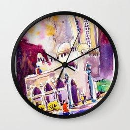 20161203a Masjid Al Burhani Wall Clock