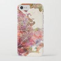 rio de janeiro iPhone & iPod Cases featuring Rio de Janeiro by MapMapMaps.Watercolors