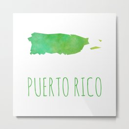 Puerto Rico Metal Print