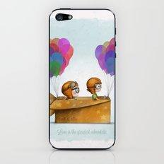 UP Pixar— Love is the greatest adventure  iPhone & iPod Skin