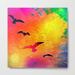 Candy Coloured Dreams Metal Print