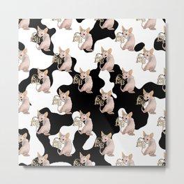 FAB pattern Metal Print