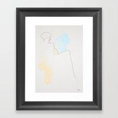Portrait of Portrait of Anna Akhmatova after Nathan Altmann  Framed Art Print