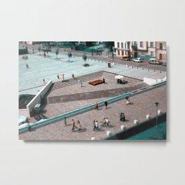 Cube of chocolate Metal Print