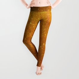 In Fields of Gold, Landscape Wildflowers Leggings