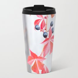 Rustic Berry Vine in the Fall Travel Mug