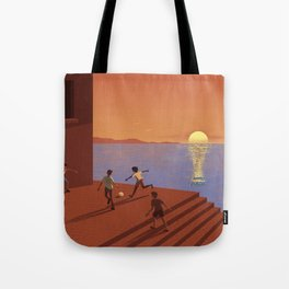 Dreaming the World Cup Tote Bag