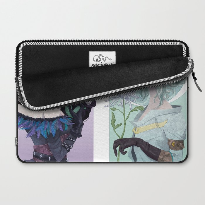 The Crow & The Swallow Laptop Sleeve