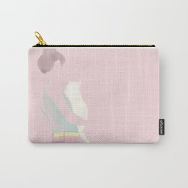 The Girl with her cat Carry-All Pouch