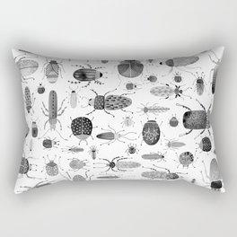 Ink Beetles Rectangular Pillow