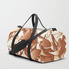 Pattern brown 156 Duffle Bag