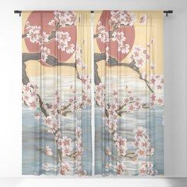 Rising Sun Sheer Curtain