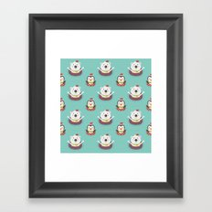 Day 05/25 Advent - Holiday Warming Framed Art Print