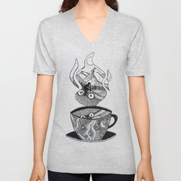 Dark Roast MTB Dreams Unisex V-Neck