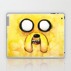 Jake Face Yellow Dog Cartoon Character Laptop & iPad Skin