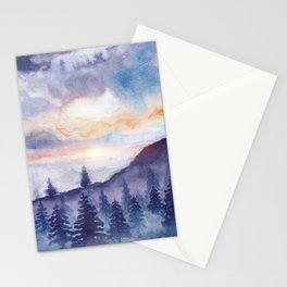 Into The Forest IX Stationery Cards