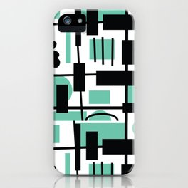Teal is the new Black iPhone Case