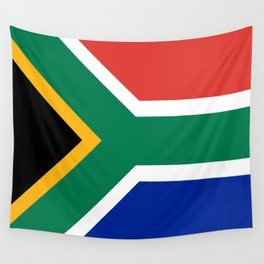 Flag of South Africa Wall Tapestry