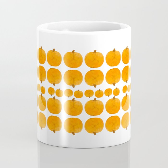 Pumpkin Pattern | Rustic Coffee Mug