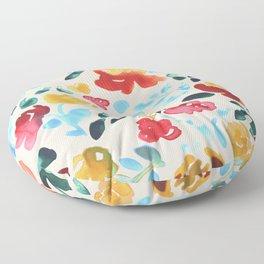Spring Florals Floor Pillow