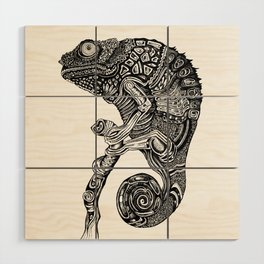 Chameleon Wood Wall Art