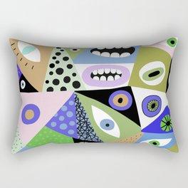 Eating me Rectangular Pillow