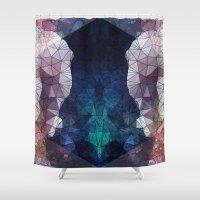 random Shower Curtains featuring Random XXL by Esco