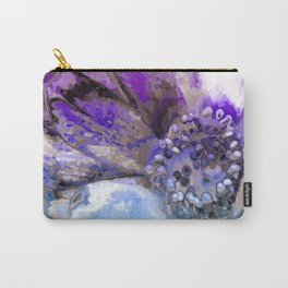 In Sunlight, Lilac and Blue Carry-All Pouch