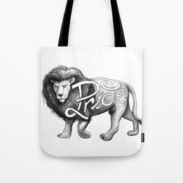 Pride Lion Tote Bag
