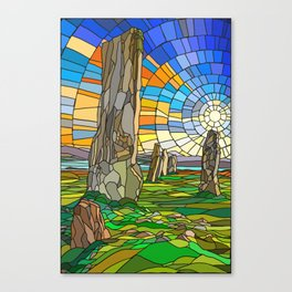 Calanais Sunset Canvas Print