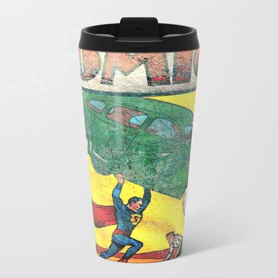 Superman Nº1 Metal Travel Mug