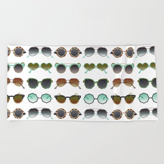 Sunglasses Collection – Mint & Tan Palette Beach Towel