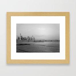 Panama City Framed Art Print