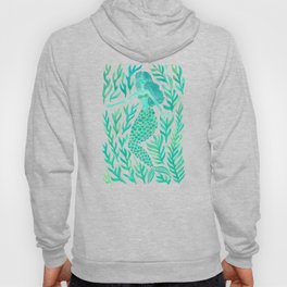 Kelp Forest Mermaid – Mint Palette Hoody