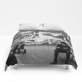Guernica in Tokyo Comforters