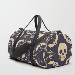 Happy halloween skull pattern Duffle Bag