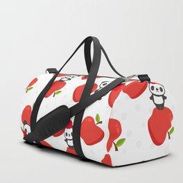 Pandas and Apples Duffle Bag