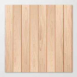 Light Brown Wood Floor Pattern Canvas Print
