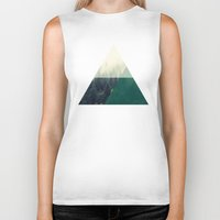 the mountains are calling Biker Tanks featuring The Mountains are Calling by Tiffani Angelone