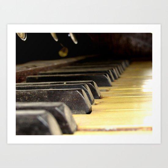 Player Piano Art Print