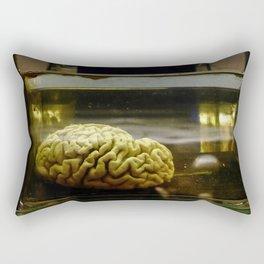 Brain in formalin Rectangular Pillow
