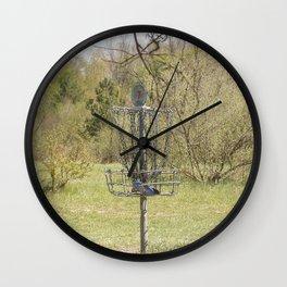 Brown Park Disc Golf Course Wall Clock