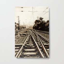 Way Forward Metal Print