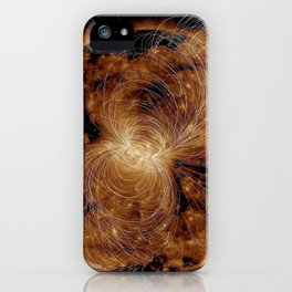 The Solar Wind iPhone Case
